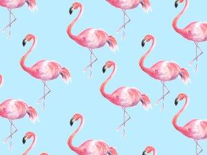 Flamingo Painted Photo Backdrop