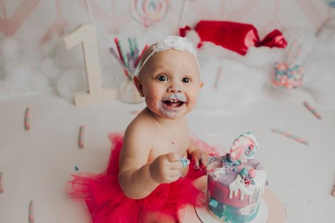 Water color Herringbone Cake Smash Photography Backdrop