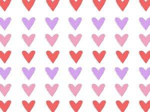 Hearts valentines day cake smashphoto backdrop