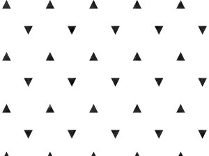 Modern Black and White Triangle Photo Backdrop