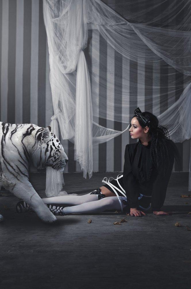Black and white strip halloween cake smash photo backdrop