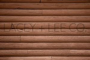 Stacked Log Photo Backdrop