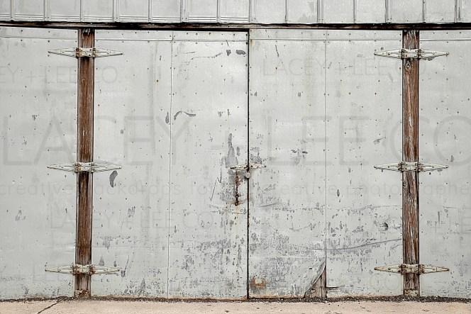 Loading dock photo backdrop