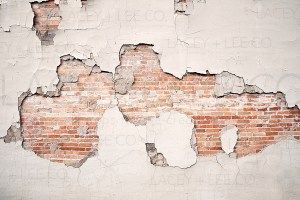 Exposed Brick Plaster and Brick Photo Backdrop