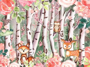Baby Animals Woodland