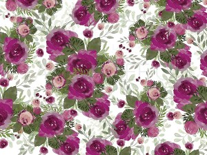 Plum and Sage Florals
