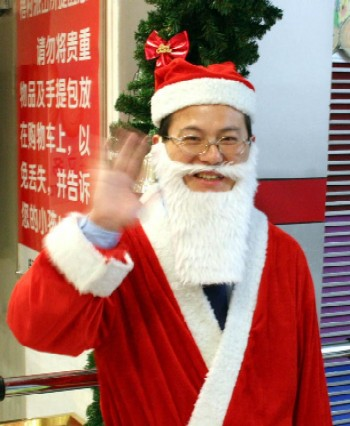 Image result for chinese santa claus