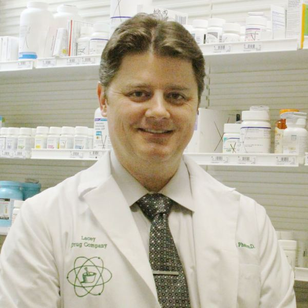 Darrin Anderson received his PharmD from Mercer University. He has practiced at Lacey's Long Term Care Pharmacy for over five years. Darrin makes it his mission to always look out for the customer's best interest.