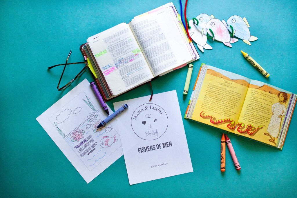 Mama & Littles Bible Study / Lacey Rabalais / Study the bible along with your littles