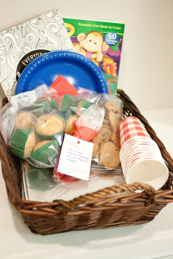New Mama Gift Basket