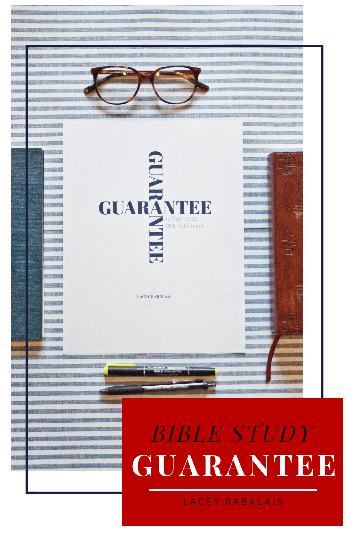 Guarantee // Bible Study // 43 Prophecies Fulfilled by Jesus