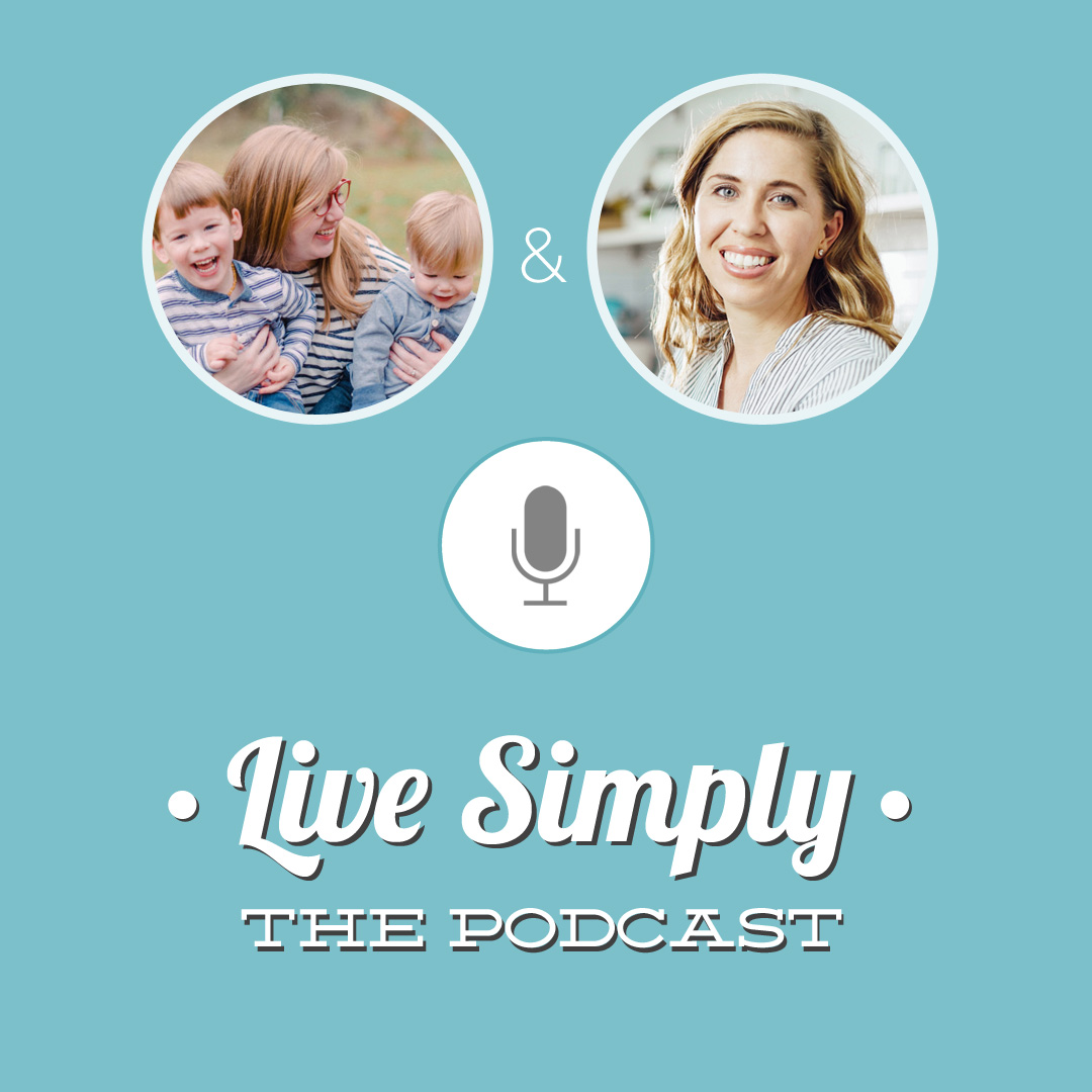 Lacey on Live Simply Podcast // Backyard Growing