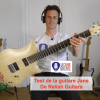 Test Guitare - Modèle Jane de Relish Guitars - Instrument Suisse