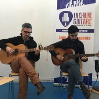 Interview Shaï Sebbag et Maneli Jamal - Festival Guitare Issoudun 2018