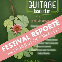 Festival Guitare Issoudun 2020 - Gérard Sadois interview en direct
