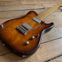 Tausch Guitars 665 Raw Deluxe, test complet d'une belle allemande