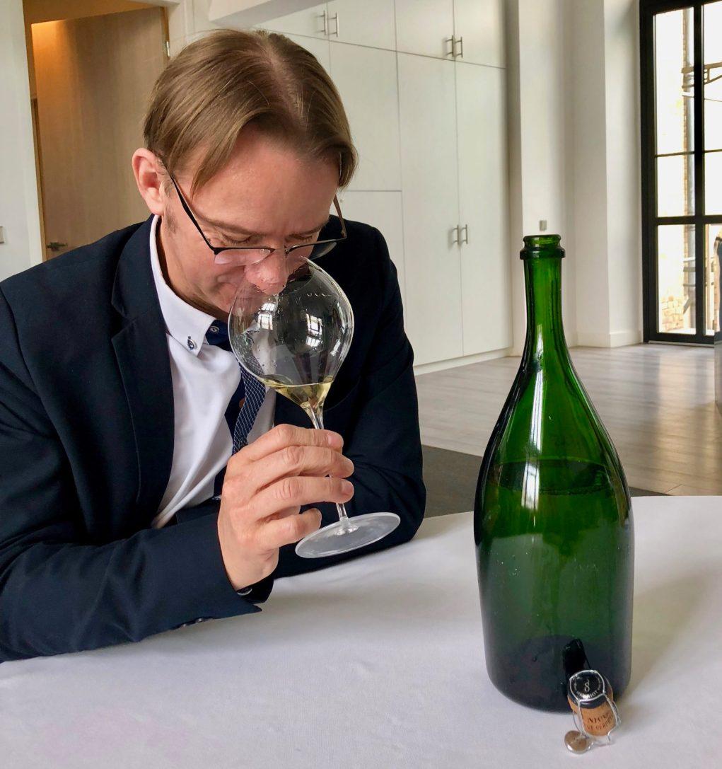 Laurent Fresnet, chef de caves du champagne Henriot.