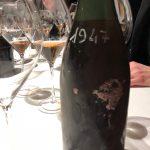 Millésime 1947 en rosé. Le millésime référence de l'année en 7.