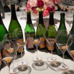 Le champagne rosé dans toute son histoire.