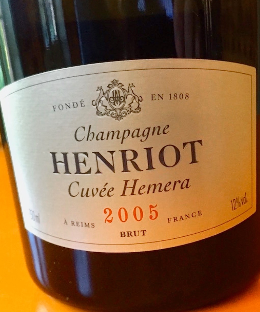 La nouvelle cuvée de la maison Henriot baptisée Hemera.