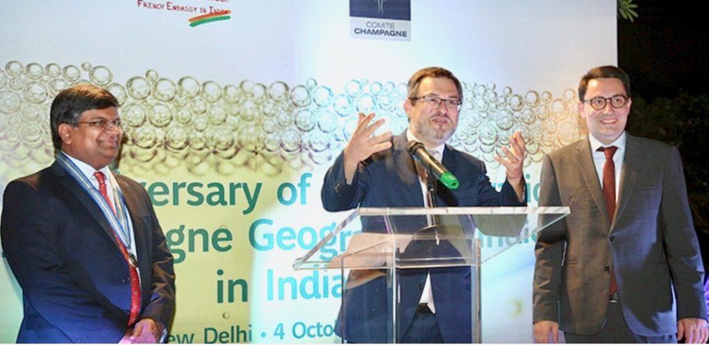 Célébration du 10 anniversaire de l'enregistrement de l'appellation Champagne en Inde