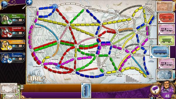 ticket to ride, le jeu des trains en ligne