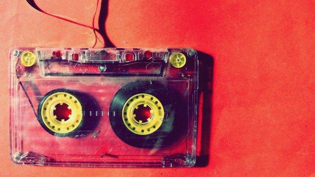cassette pour enregistrer votre chanson