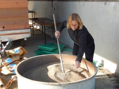 merci Teresa pour le mélange des graines!