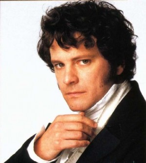 A favourite hero of many a reader - Mr. Darcy!