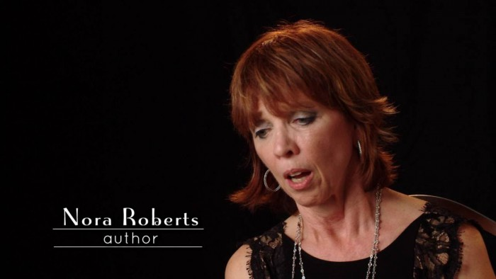Nora Roberts interview clip from LOVE BETWEEN THE COVERS