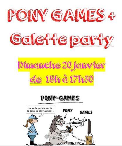 Pony Games le dimanche 20 janvier