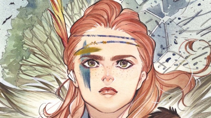 Horizon Zero Dawn Liberation Comic Cover