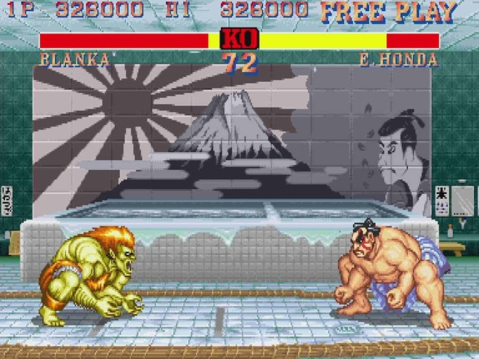 Street Fighter 2 E. Honda Stage Before