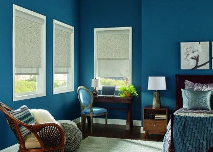 Arboretum Black Out Monarch (37-1370-02) Solar with sheer roller