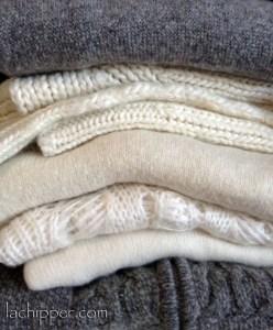 eliminare i pelucchi dal maglione di lana