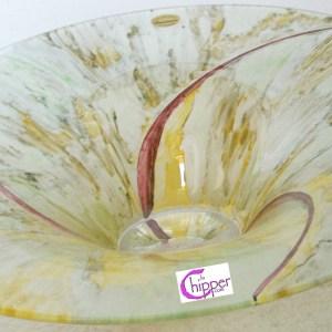centrotavola cristallo decorato www.lachipper.com