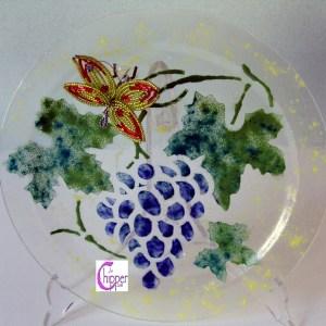piatto vetro murano