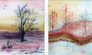 pittura e decorazione su stoffa