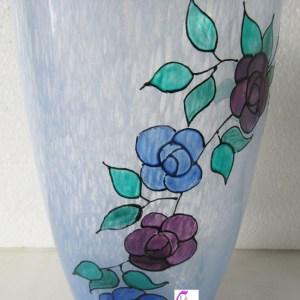 vaso di vetro soffiato lachipper.com