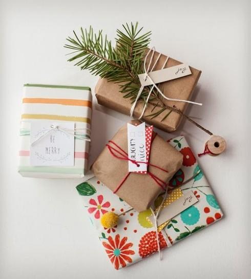 il pacchetto regalo di natale originale idee fai da te