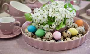fare il centrotavola di Pasqua lachipper.com
