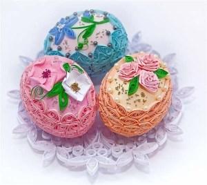 decorare le uova di Pasqua