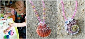 creare con le conchiglie www.lachipper.com