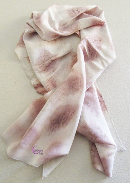 sciarpa di seta dipinta lachipper.com