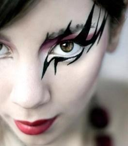 trucco occhio halloween www.lachipper.com