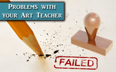 What to do When You Don't Agree With Your Art Teacher