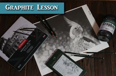 Graphite Tutorial with Graphite Powder