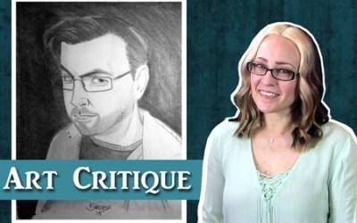 Graphite Portrait Critique