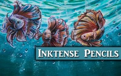 Derwent Inktense Painting Demonstration