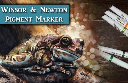 Winsor & Newton Pigment Marker Tutorial